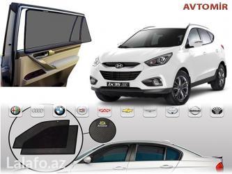 Bakı şəhərində Hyundai İx35 və hər növ avtomobil üçün pərdələr. 25-30 aznШторки