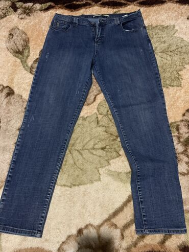 Джинсы - Кыргызстан: Продаю джинсы, в идеальном состоянии размер 33, одевала 2,3 раза