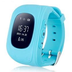 Детские часы wonlex q50 синего цвета - благодоря встроеному gps
