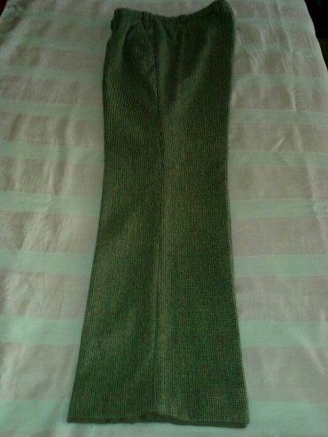 Muške zimske štofane pantalone (vuna 100%). Klasične,sa - Palic