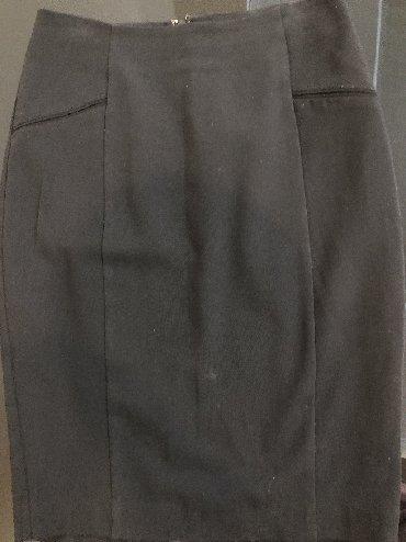черная юбка карандаш в Кыргызстан: Юбки Mango M
