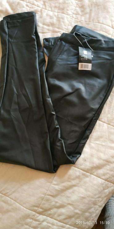 Pantalone kozne - Srbija: Kozne pantalone,vel .44,-46.Nove