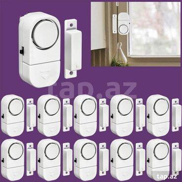датчик коленвала - Azərbaycan: Беспроводные-магнитный датчик безопасности
