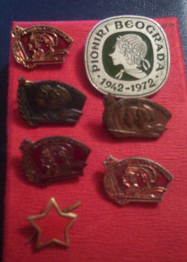 Značke, ordeni i medalje | Srbija: Pionirske znacke