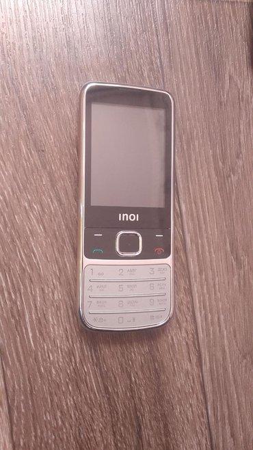 телефон-fly-e в Кыргызстан: Модель inoi новый телефон 2х симка с гарантией и доставкой по городу