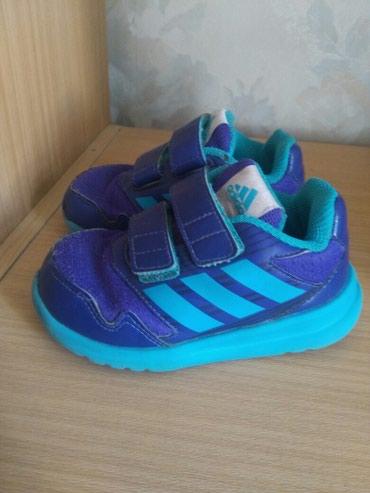 Кроссовки б/у Adidas 24 размер. Привезены с Европы. Цена 400 сом в Бишкек