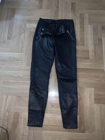 Ženske pantalone - Srbija: Bershka kožne pantalone