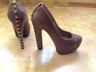 Женская обувь в Шопоков: Продаю туфли. Состояние новых, надевала всего раз. Размер 36