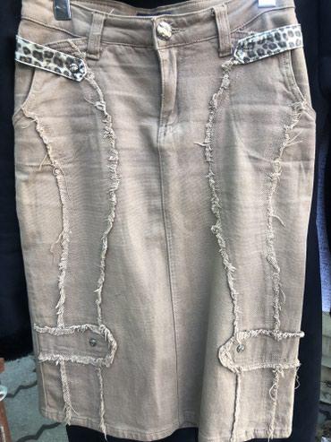 Джинсовая юбка. Качество супер. в Бишкек