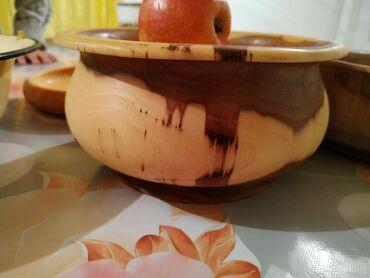 деревянная посуда в Кыргызстан: Деревянные посуды  Жыгч идиштер
