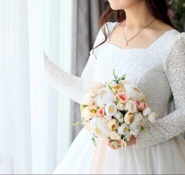тянь ма телевизор пульт в Кыргызстан: Продаю очень нежное свадебное платье, сшито индивидуально на заказ, р