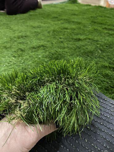 Искусственный газон 6 см, размер 2 м на 2 м