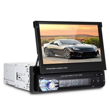 1din Multimedija 7in MP5 Player Bluetooth SD HD 9601 - Nova Pazova