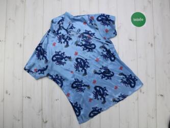 Женская пижама с принтом   Рубашка: длина-68 см,рукава-18см Штаны: дл