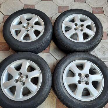 тойота центр бишкек камри 70 цена in Кыргызстан   АВТОЗАПЧАСТИ: Колеса R14 для Toyota (4x100).Оригинальные диски
