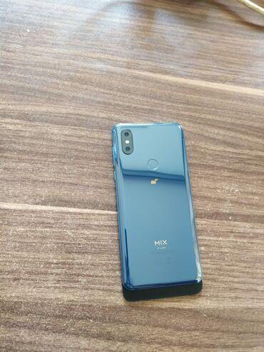 barter telefon - Azərbaycan: Xiaomi Mi Mix 3 5G 64 GB göy