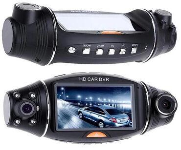 gövdə - Azərbaycan: Videoregistrator R310 2 Kameralı HD DVRR310 Dual Camera GPS Car DVR