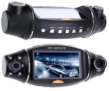 Videoregistrator R310 2 Kameralı HD DVRR310 Dual Camera GPS Car DVR