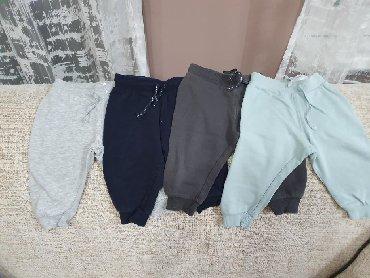 Dečije Farmerke i Pantalone | Stara Pazova: Paket 4 donja dela H&M, velicina 80, ocuvani