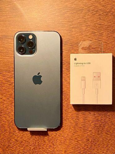 IPhone 12 Pro Max | 512 ГБ | Новый | Гарантия, Отпечаток пальца, Беспроводная зарядка
