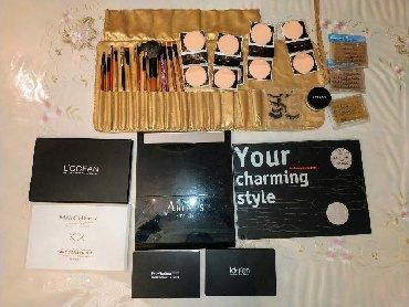Распродажа Make up наборов для визажистов. Кисти, губки, ресницы для