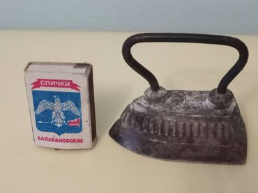Утюжок маленький, манжет, алюминиевый вес 186 грамм в Бишкек