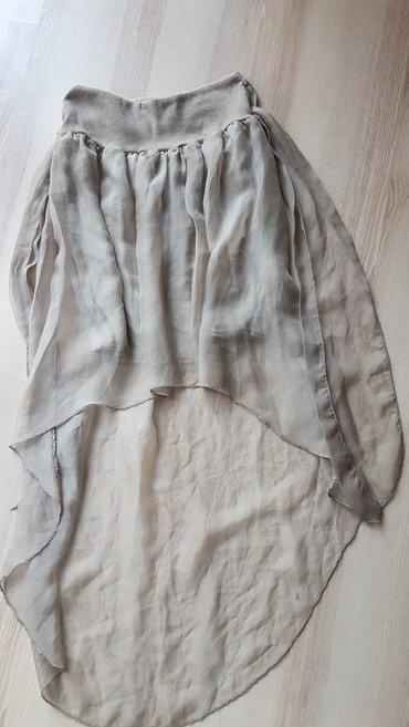 Braon - Srbija: Lagana, letnja suknja, univerzalne velicine jer ima lastiz, i