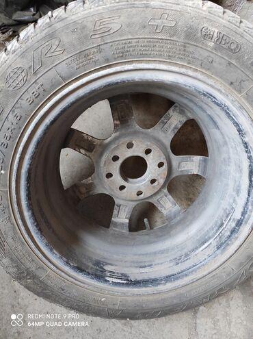 титановые диски бу в Кыргызстан: Продам диски титановые R15, состояние идеальное прошу 15000. Реальному