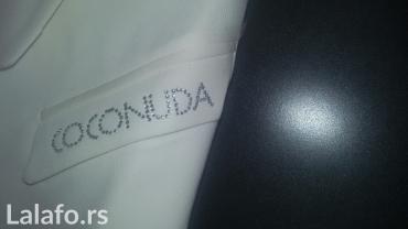 Prsluk-saten-lep-i-prairican - Srbija: Lep prsluk,elegantan,italijanska marka Coconuda,sa etiketom