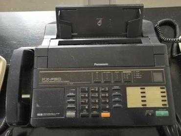 Sekretarica - Srbija: Telefonska sekretarica panasonikova telefax sa tir telefona za