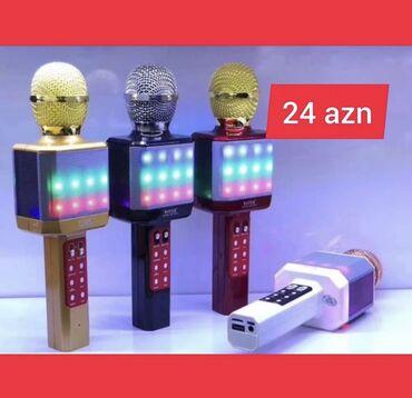 - Azərbaycan: Ən keyfiyətli karaoke mikrafonları ən münasib qiymətlərlə mağazamız