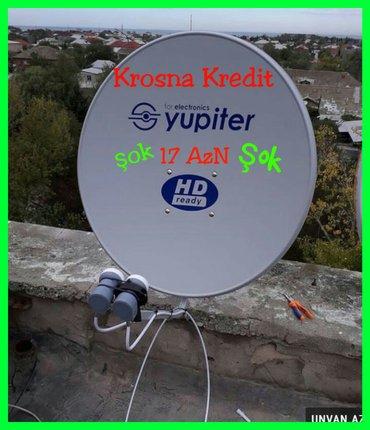 Bakı şəhərində Krosna antenalarının quraşdırılması kredit və ya nəğd