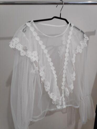 Διαφανής μπλούζα