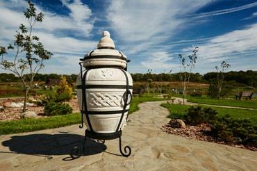"""Тандыр """"Атаман""""Изготовлен из шамотной глины.Толщина стенки 5см.Высота"""