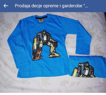 Nove pamucne svetlece bluzice vel. 1/2, 2/3 350 din/kom - Krusevac