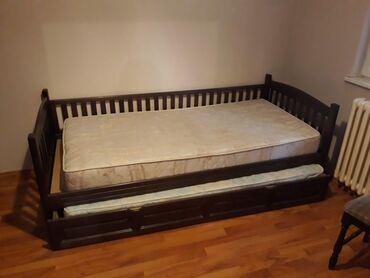 Nameštaj - Sremska Kamenica: Krevet sa fiokom za dusek