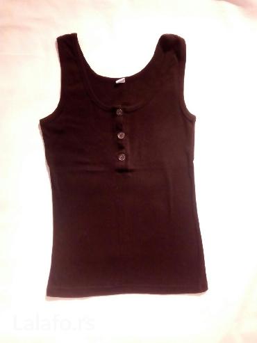 Crna pamucna majica S velicine - Beograd