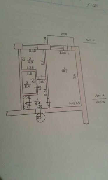 сколько стоит шины в Кыргызстан: Продается квартира: Индивидуалка, Южные микрорайоны, 1 комната, 32 кв. м