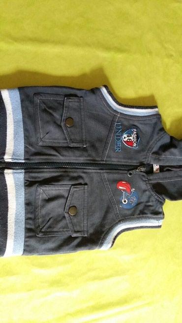 Prsluk sa kapuljacom za bebe od godinu dana,polovan i ocuvan - Petrovac na Mlavi - slika 2