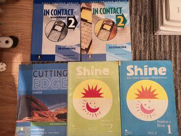 читалка книг купить в Кыргызстан: Срочно продаю книги по английскому языку по 250 сом.IN CONTACT 2 -