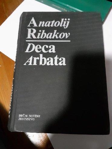 Knjige, časopisi, CD i DVD | Pozega: Deca Arbata - Anatolij RibakovAnatolij RibakovDječje Novine, Gornji