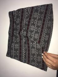 Zimska suknjica - Srbija: Zimska suknjica, odlicno na grilon unihop iz terenove velicina S