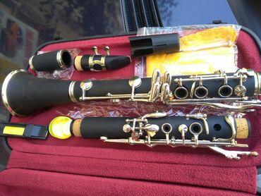 Флейты - Азербайджан: Fransiz B klarnet teze pakofqa magaza satisi BIRKARTLA 6 AYA QEDER F