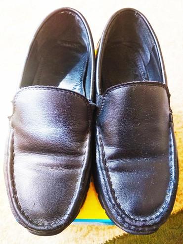 Детская обувь в Кок-Ой: Кожаные туфельки для мальчика,в школу.Состояние идеальное,кожаная