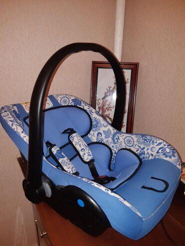 автолюлька в Кыргызстан: Продаю автолюльку 0-13 кг, насыщенно голубого цвета с красивыми