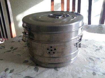 Стерилизатор круглый высота 15 см диаметр 21,5 см2 шт. в наличии в Бишкек