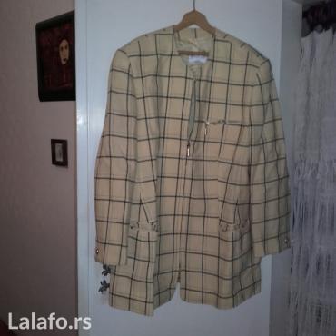 Karirana-jakna-nemackoj - Srbija: SAKO zenski - moze i kao jakna za jesen i zimu kupljena u nemackoj