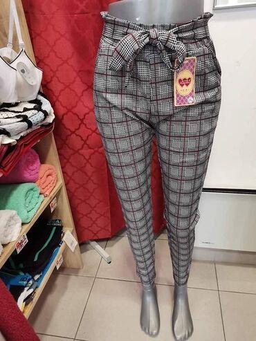 Zenske pantalo - Srbija: Lagane zenske pantalone sa elastinom u vel XXL. 3XL  Cena: 1.000