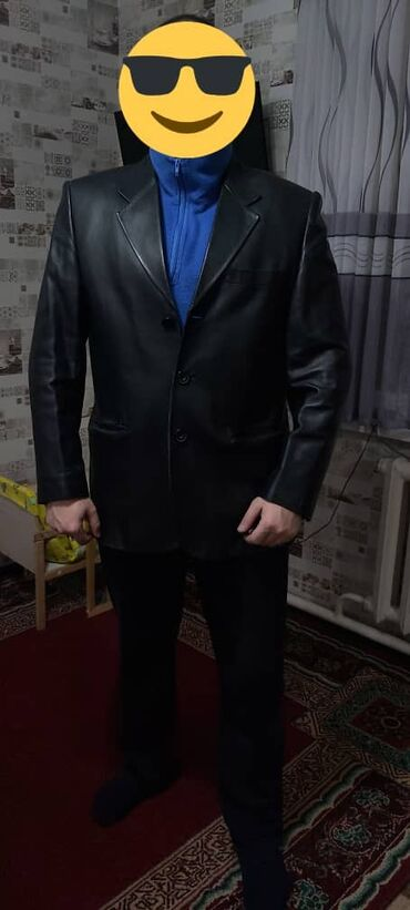мужские вещи в Кыргызстан: Во все времена кожаный мужской пиджак считался наиболее солидной и
