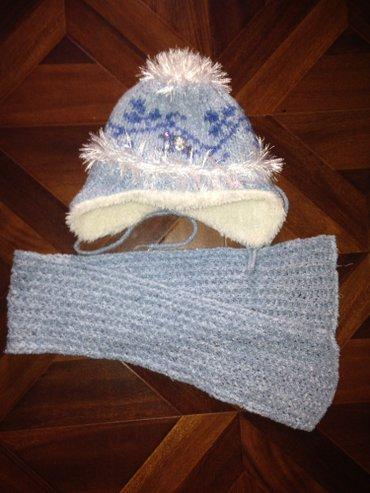 Продам очень теплую шапку и шарф на в Бишкек